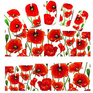 prachtige bloem nagel stickers plakken manicure manicure accessoires