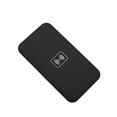 qi draadloze oplader pad + draadloze ontvanger adapter + TPU soft duidelijk geval stellen voor de iPhone 5 5s