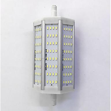 880lm R7S LED-kornpærer T 96LED LED perler SMD 3014 Dekorativ Varm hvit / Kjølig hvit 85-265V