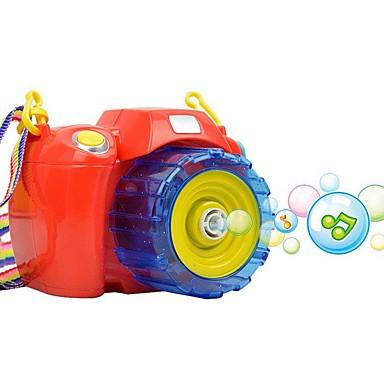 voordelige water Speeltjes-creatieve camera vorm zeepbellen machine voor kinderen blowing bubbles speelgoed kinderen grote vloeibare zeep bellen voor kinderen
