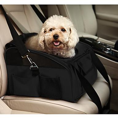 Kat Hond Dragers & Reistassen Hoes Voor Autostoel Huisdieren Dragers draagbaar Vouwbaar Effen Zwart Groen Lichtblauw Khaki