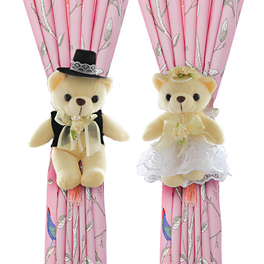 Satijn Wedding Decorations-2piece / Set OrnamentenBruidsshower Babyshower Schoolbal Verjaardag Kerstmis Halloween Valentijnsdag