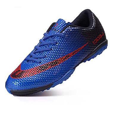 Jungen Schuhe PU Frühling Komfort Sneakers Fußball Mit Besatz für Orange / Rot / Blau