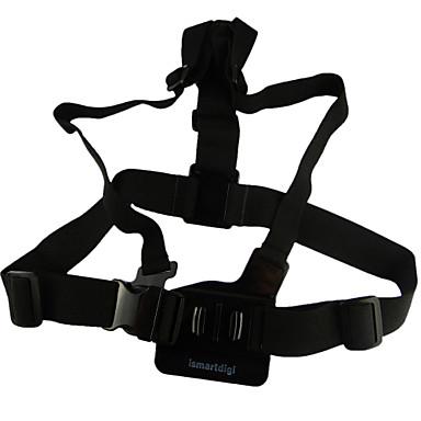 Brustgurt Chesty  / Brust Gurt Träger Verstellbar Zum Action Kamera Gopro  5/4/3/3+/2/1 SJ4000 Universal Aluminiumlegierung