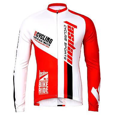 TASDAN Herrn Fahrradtrikot Fahhrad Trikot / Radtrikot Rasche Trocknung, Atmungsaktiv Solide Fahrradbekleidung