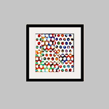 Gerahmtes Leinenbild Gerahmtes Set Abstrakt Fantasie Wandkunst, PVC Stoff Mit Feld Haus Dekoration Rand Kunst Wohnzimmer Schlafzimmer
