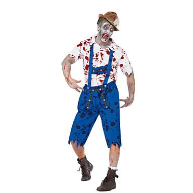 Cosplay Kostuums Feestkostuum Vampieren Festival/Feestdagen Halloweenkostuums Patchwork Top Broeken Meer Accessoires Halloween Oktoberfest