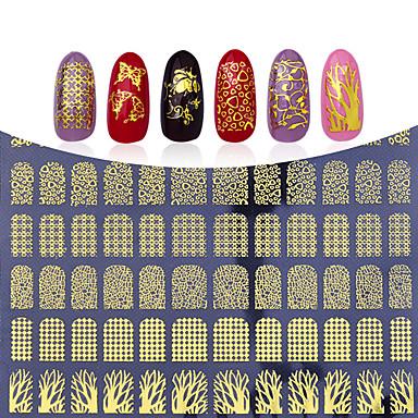 Brioso 1 Pcs Adesivi 3d Unghie Manicure Manicure Pedicure Di Tendenza Quotidiano - Adesivi Per Unghie 3d #05307578 Guidare Un Commercio Ruggente