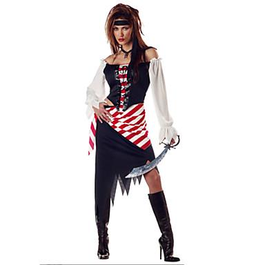 Cosplay Kostumer Festkostume Film & TV Kostumer Festival/Højtider Halloween Kostumer Kjole Mere Tilbehør Halloween Kvindelig Terylene