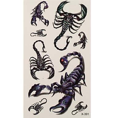 1 Tatoeagestickers Dieren Series scorpion Flash Tattoo tijdelijke Tattoos
