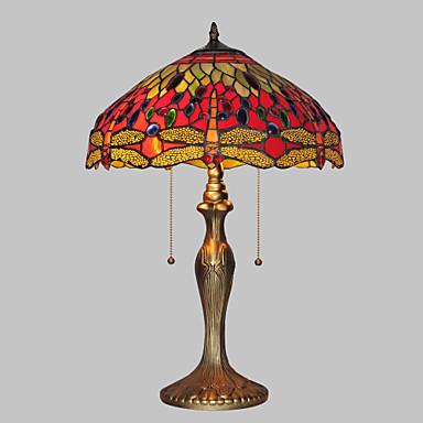 Tiffany Lampe de Table Métal Applique murale 110-120V / 220-240V