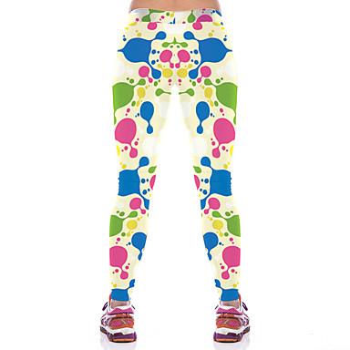 calças de yoga Calças Respirável Compressão Natural Com Elástico Moda Esportiva Mulheres Ioga Pilates