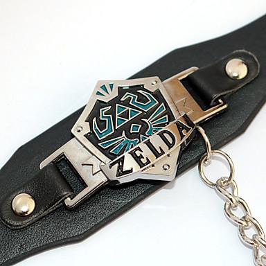 Schmuck Inspiriert von The Legend of Zelda Cosplay Anime Cosplay Accessoires Armband PU-Leder / Aleación Herrn / Damen