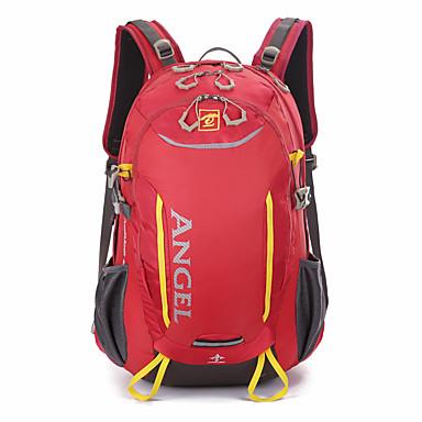 40 L mochila Mochila para Excursão Acampar e Caminhar Viajar Secagem Rápida Vestível Resistente ao Choque Multifuncional Poliéster Náilon
