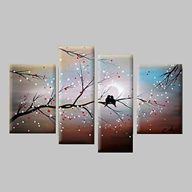 Peint la main paysage toute forme toile peinture l for Forme peinture