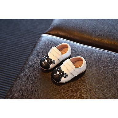 Fladsko-LæderPige--Udendørs-Flad hæl