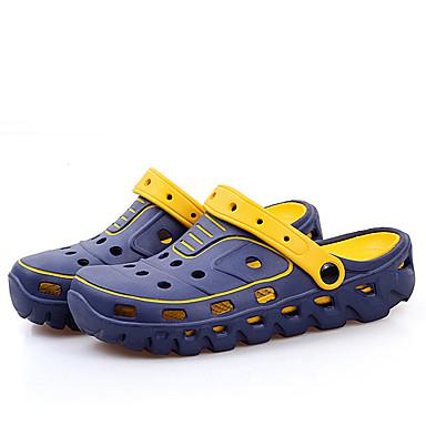 Heren Schoenen Rubber Zomer Comfortabel Klompen & Muiltjes voor Causaal Zwart Blauw Khaki