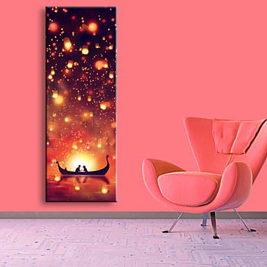 LED Kanvas Sanat Manzara Tek Panelli Dikey Boyama Duvar Dekor Ev dekorasyonu