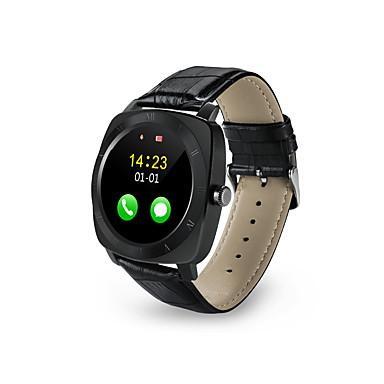 Reloj elegante X3 para Calorías Quemadas / Llamadas con Manos Libres / Pantalla Táctil / Distancia de Monitoreo / Podómetros Temporizador / Recordatorio de Llamadas / Seguimiento de Actividad