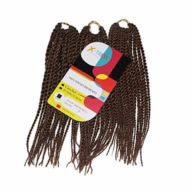 Senegal 100% kanekalon haare Echthaar Haarverlängerungen Twist Braids Haar Borten Alltag
