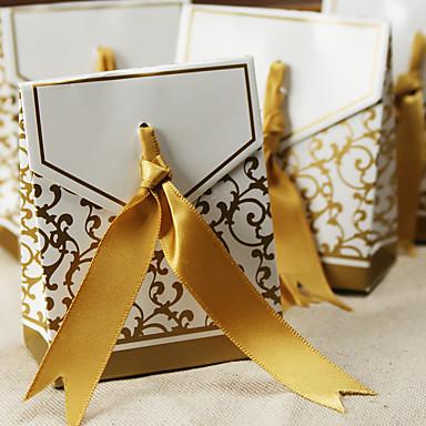Kube Kort Papir Gaveholder Med Favoritt Esker Favoritt Vesker Favoritt Bokser og Bøtter Godterikrukker og flasker Småkake Pakning Og
