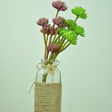 1 Tak Kunststof Planten Bloemen voor op tafel Kunstbloemen