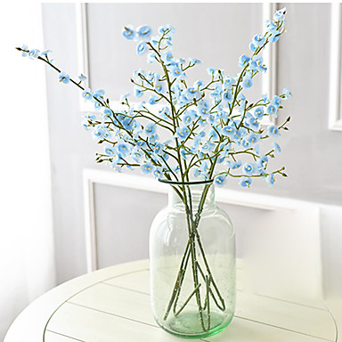 Kunstbloemen 1 Tak Moderne Style Klokje Bloemen voor op tafel