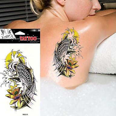 Tatoeagestickers Overige Non Toxic Waterproof Dames Heren Volwassene Tiener Tijdelijke tatoeage Tijdelijke tatoeages