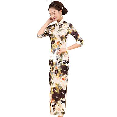 Traditionell Damen Rock A-Linie Kleid Pencil Kleid Cosplay Normallänge