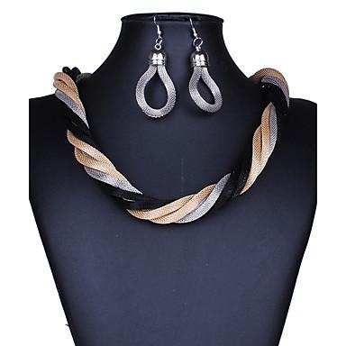 Dames Sieraden Set Ketting / Oorbellen Sexy Modieus Europees Kostuum juwelen Kettingen Oorbellen Voor Bruiloft Feest Dagelijks Causaal
