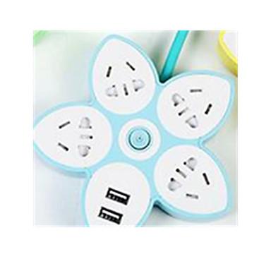 PUNIDI Cabeada Others USB multi-function socket Verde / Azul / Roxa