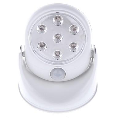 1pc 400 lm LED-spotpærer 7 LED perler Integrert LED Sensor Kjølig hvit