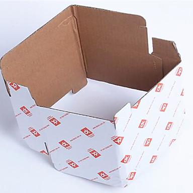 high-grade hvidt kort emballage kasser specifikationer 25x10x10cm 5 pakket til salg