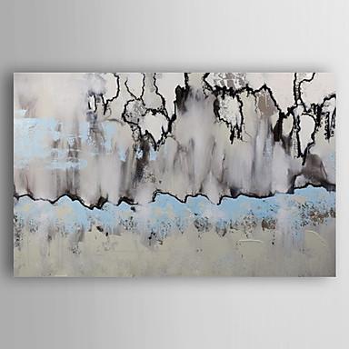 Handgemalte Abstrakt Horizontal, Modern Segeltuch Hang-Ölgemälde Haus Dekoration Ein Panel