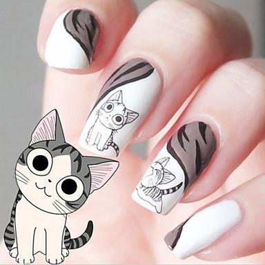 1 Pcs Adesivo Per Trasferimento D'acqua Manicure Manicure Pedicure Di Tendenza Quotidiano #05249636