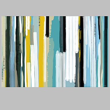 Hang-Painted Oliemaleri Hånd malede - Abstrakt Europæisk Stil Moderne Parfumeret Lærred