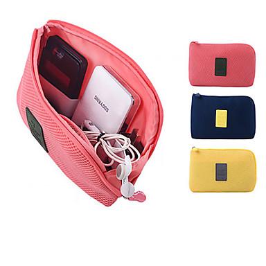 Passholder og ID-holder Holder til høreapparat / Kabelspole Bagasjeorganisator Vanntett Bærbar Støvtett Reiseoppbevaring til Mobiltelefon