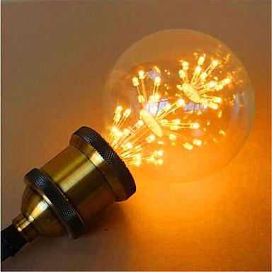 800 lm E26/E27 LED Kugelbirnen G95 49 Leds Dip - Leuchtdiode Dekorativ Gelb Wechselstrom 220-240V