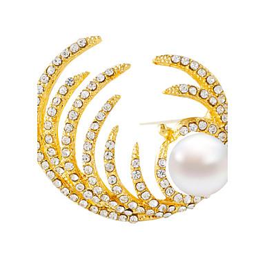 Damen Mädchen Broschen Silber Golden Mattschwarz Stilvoll Modisch Schmuck Party Alltagskleidung Alltag Modeschmuck