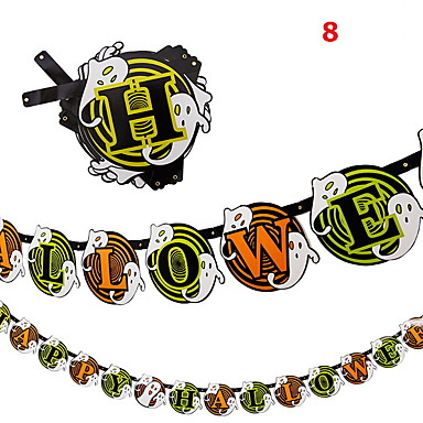 Novelty Toy / Festival Supplies Festival Supply / Papier Zwart Fade / Ivoor Voor kinderen Allemaal