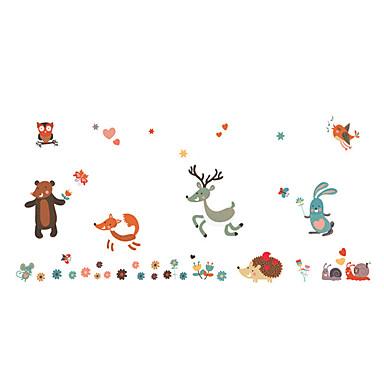 Dieren / Kerstmis / Mode Wall Stickers Vliegtuig Muurstickers Decoratieve Muurstickers,PVC Materiaal Wasbaar / Verwijderbaar / Verstelbaar