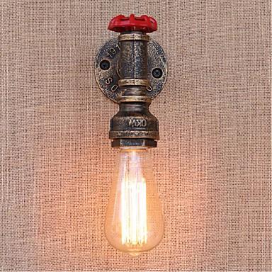 Rústico / Campestre Luminárias de parede Metal Luz de parede 110-120V / 220-240V 40W / E27