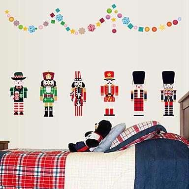 Dekorative Wand Sticker - Flugzeug-Wand Sticker Mode / Weihnachten / Cartoon Design Wohnzimmer / Schlafzimmer / Studierzimmer / Büro