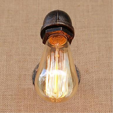 Rustiikki Seinävalaisimet Metalli Wall Light 110-120V / 220-240V 40W