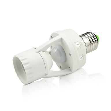YWXLIGHT® 1pc E27 auf E27 E27 Infrarot-Sensor Lichtbuchse Kunststoff