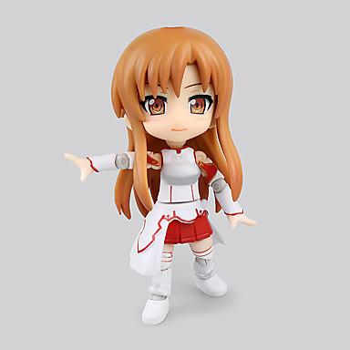 Anime Action Figurer Inspirert av Sword Art Online Asuna Yuuki PVC 16 CM Modell Leker Dukke