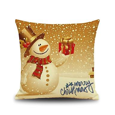 1 Stück Baumwolle Kissenbezug, Urlaub Akzent dekorativen