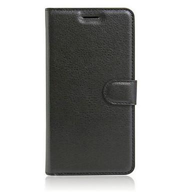 Etui Til OPPO R7s OPPO OPPO R9 Plus OPPO R9 Kortholder Lommebok med stativ Flipp Heldekkende etui Helfarge Hard PU Leather til OPPO R9