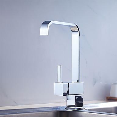 Nykyaikainen Art Deco/Retro Moderni Tall / Korkea Arc Standard nokka Ulosvedettävä / pull-down Pesuallas Esihuuhtelusuihku Laajallle
