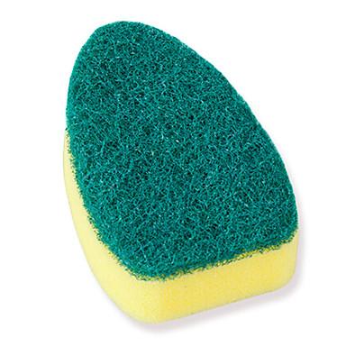 高品質 2pcs スポンジ ブラシ、はたき、化学ぞうきん ツール 保護, キッチン クリーニング用品